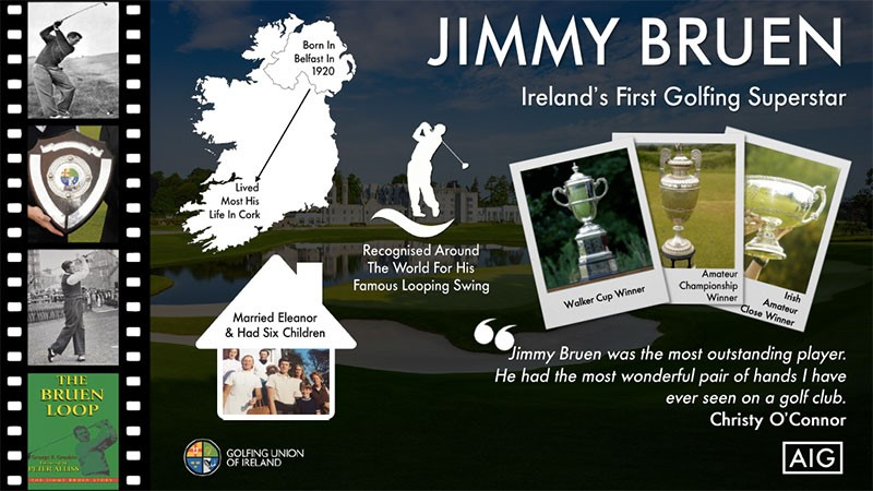 Jimmy Bruen – Looping back to an Irish golfing great