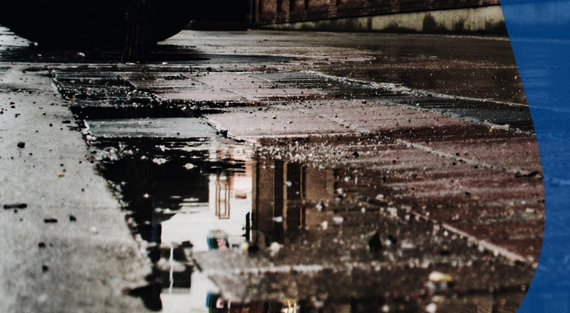 Puddles in the Road