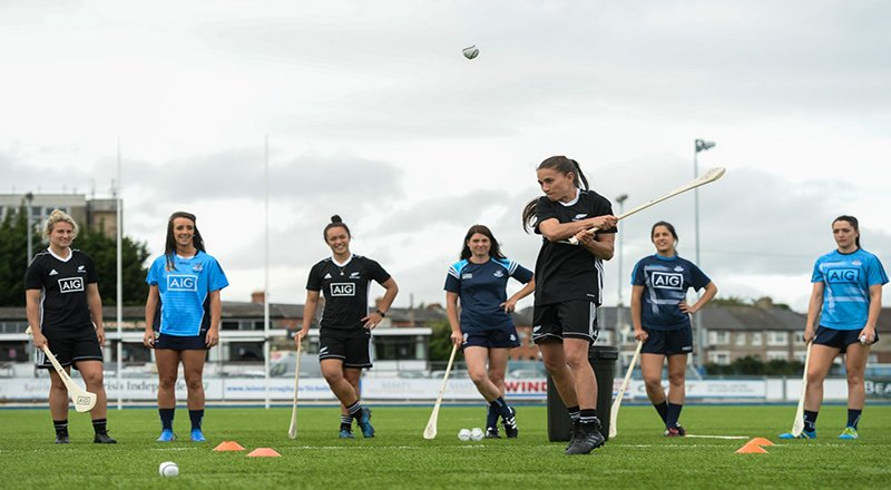 black ferns and dubs skills challenage