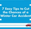 Tips to Avoid a Winter Car Accident Infographic| AIG