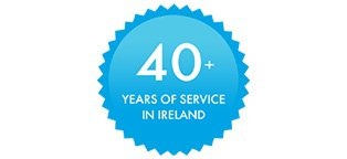 40+ Years of Service in Ireland
